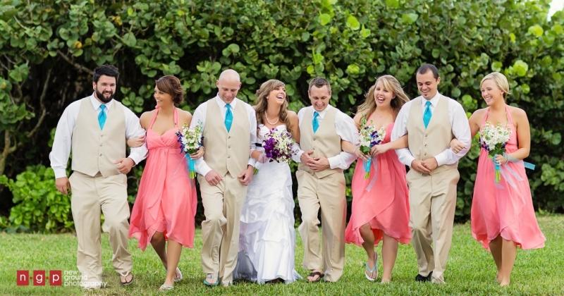 Tropical Destination Wedding Sanibel Island Florida