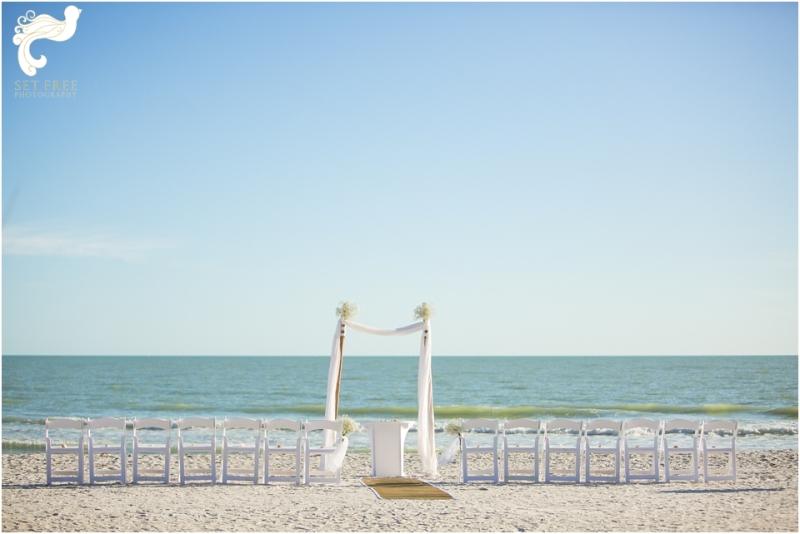 seaside beach wedding sanibel island, florida