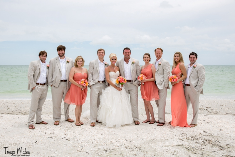 Sanibel Island, FL - Beach Brunch Wedding