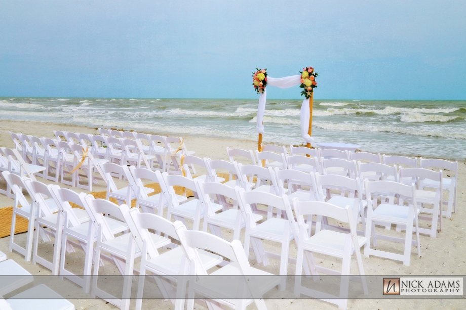 chic destination beach wedding