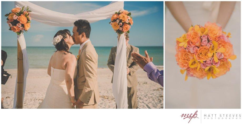 Sanibel Island Beach Wedding