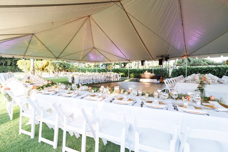 tent beach wedding sanibel island