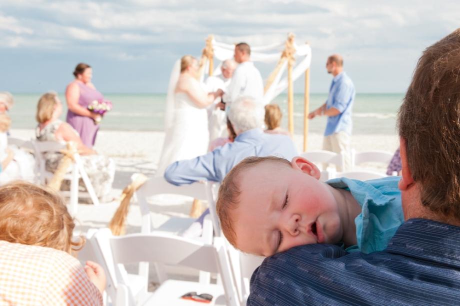 Tropical Island Wedding: Sanibel, Florida