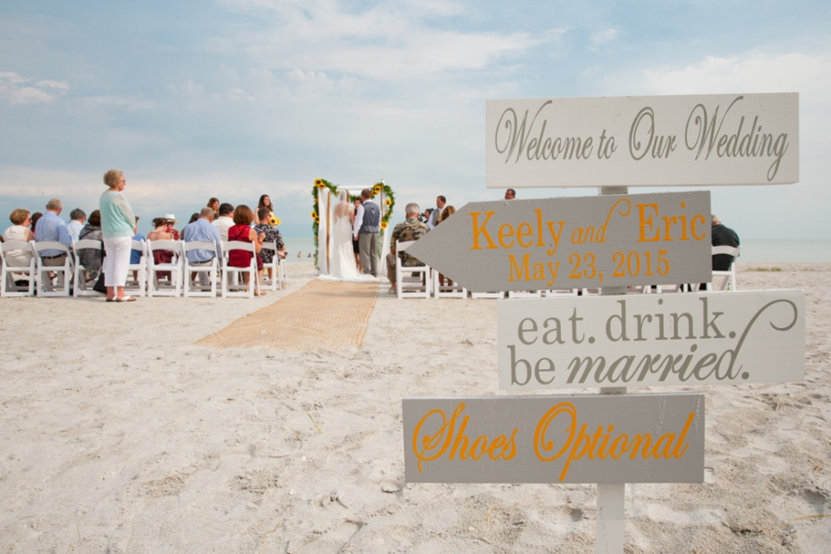 Cheery Florida Beach Wedding Sanibel Island