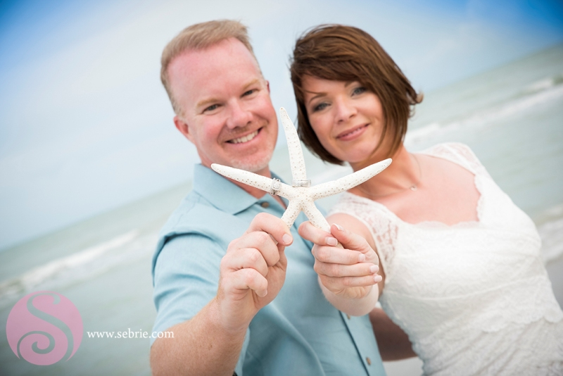 Intimate Florida Beach Wedding