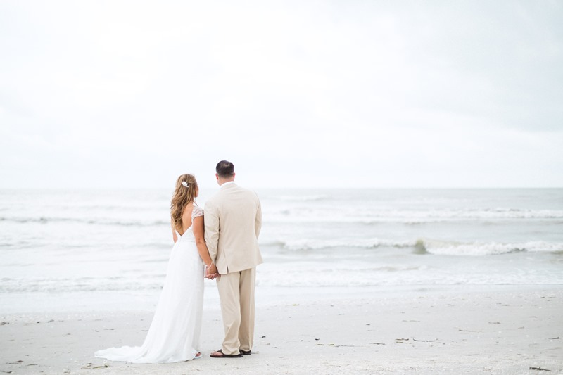 Small Sanibel Beach Wedding