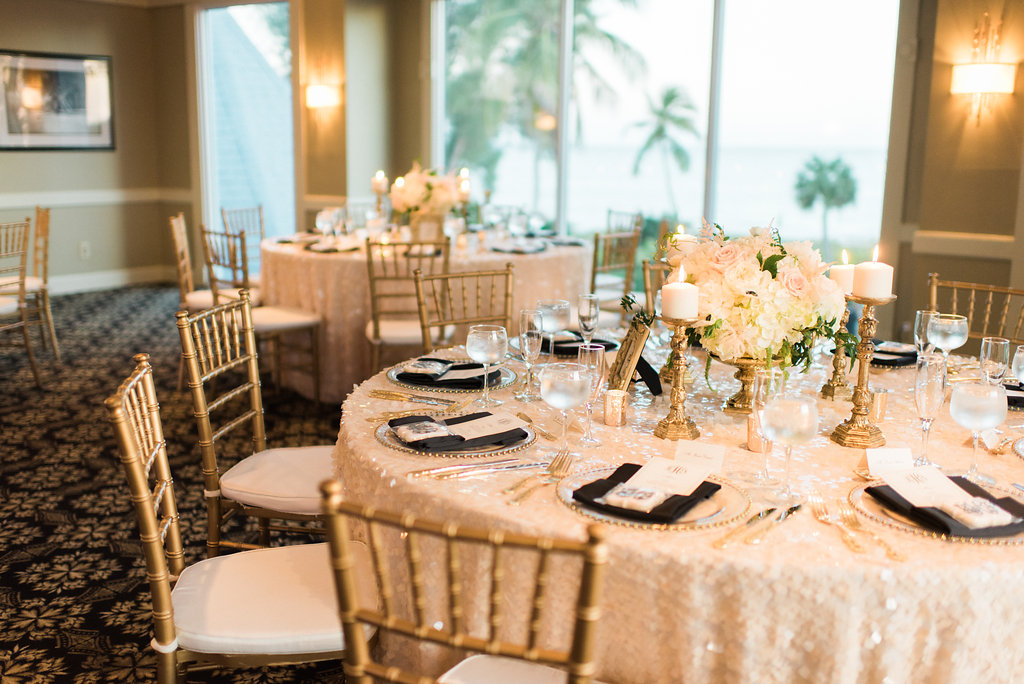 If You Think That Beach Weddings Are Synonymous With Casual, Youu0027re Wrong.  Once More, Courtney Gabelbauer Of Fabulously Chic Weddings Proves That Beach  ...