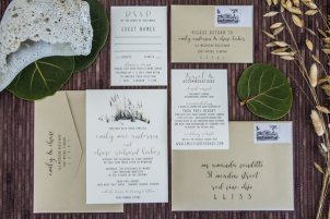 Sea Grass Invitation Suite