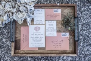 Sea Shell Invitation Suite