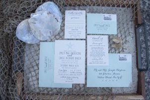 Sea Star Wedding Invitation Suite